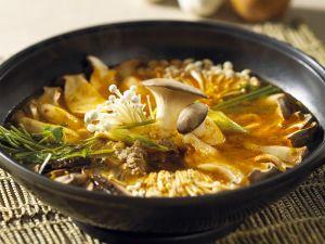 Kimchisuppe Rezept