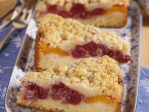 Kirsch-Aprikosen-Kuchen Rezept