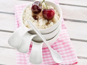 Kirsch-Milchreis Rezept