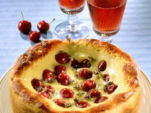 Kirsche-Hefekuchen Rezept