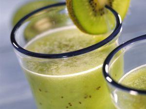 Kiwi-Apfel-Smoothie Rezept