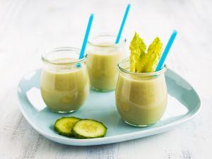 Kiwi-Gurken-Smoothie Rezept
