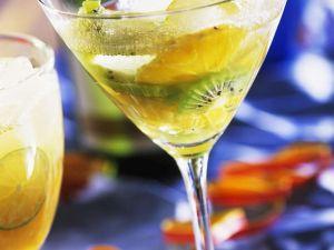 Kiwi-Orangen-Drink Rezept