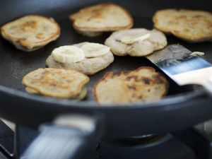 Kleine Bananen-Pancakes Rezept