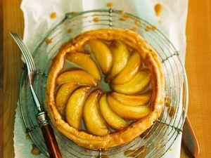 Kleine Blätterteig-Apfel-Tartes Rezept