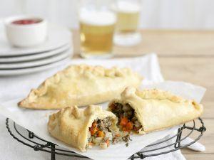 Kleine Pasteten mit Rind und Gemüse Rezept