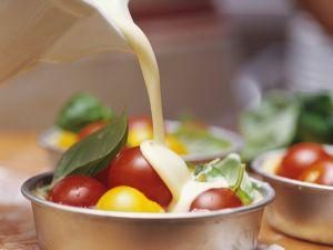 Kleine Tomaten-Quiches Rezept
