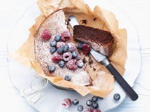 Kleiner Schoko-Nuss-Kuchen Rezept