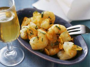 Knoblauch-Garnelen mit Petersilie Rezept