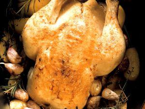 Knoblauch-Hähnchen Rezept