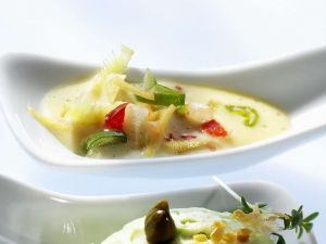 Knoblauch-Mayonnaise mit Galgant Rezept