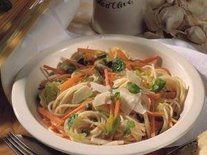 Knoblauch-Spaghetti Rezept