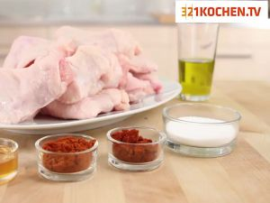 Knusprige Chicken Wings