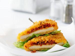Knusprige Hähnchenbrust mit Gemüse Rezept