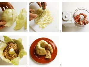 Kohlpudding zubereiten Rezept