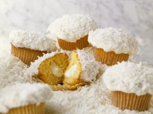 Kokos-Cupcakes Rezept