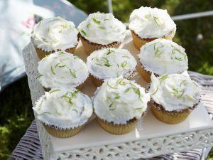 Kokos-Cupcakes mit Limette Rezept