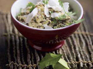 Kokos-Reis mit Linsen Rezept