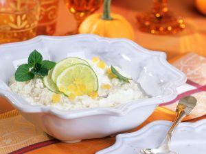 Kokos-Sahne-Reis mit Ingwer Rezept