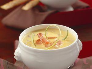 Kokos-Shrimpssuppe Rezept
