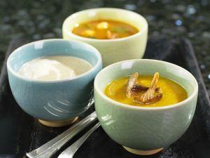 Kokos- und Currysuppen Rezept