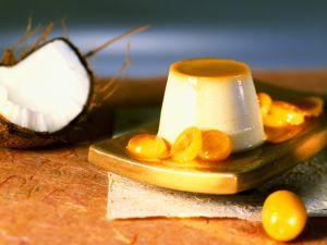 Kokoscreme mit Zwergorangen Rezept