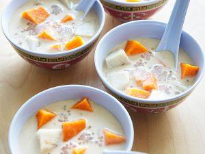 Kokossuppe mit Sago Rezept