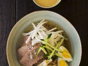 Koreanische Rindersuppe Rezept