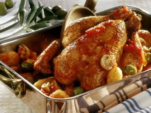 Korsisches Hähnchen Rezept