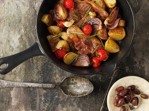 Koteletts mit Bratkartoffeln Rezept