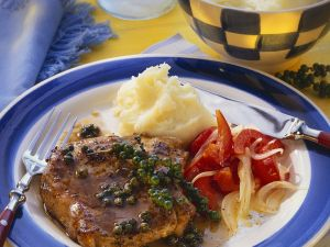 Koteletts mit Kartoffelpüree Rezept