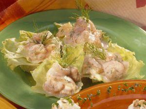 Krabben-Canapes Rezept