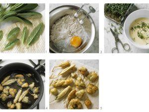 Kräuter frittiert Rezept