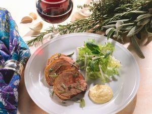 Kräuter-Lammkeule Rezept