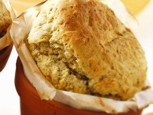 Kräuterbrot (ohne Milch & Ei gebacken) Rezept