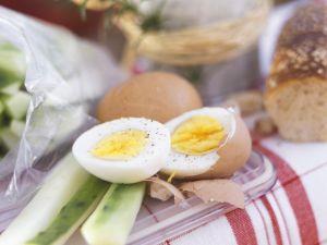 Kräuterquark mit Gurke und Ei Rezept