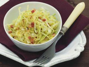 Kraut-Speck-Salat Rezept