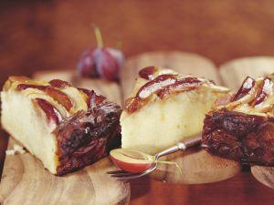 Kuchen mit Zwetschge und Sauerkraut Rezept