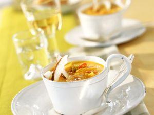 Kürbis-Kokos-Suppe mit Chili Rezept