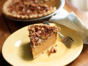Kürbis-Nuss-Pie nach amerikanischer Art Rezept