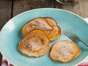 Kürbis-Pfannkuchen Rezept
