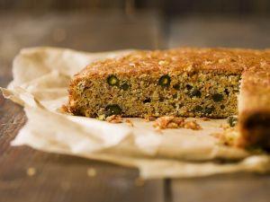 Kürbis-Pistazien-Kuchen Rezept