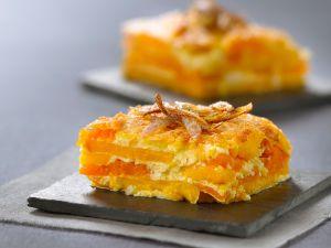 Kürbis-Süßkartoffel-Gratin Rezept