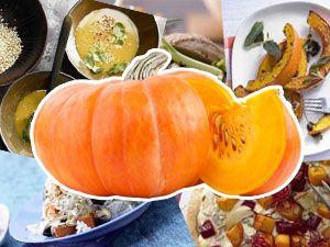 Vegetarische und vegane Kürbisrezepte