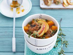 Kürbissuppe mit Apfel Rezept