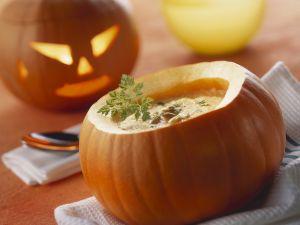 Suppe zu Halloween