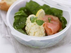 Lachs-Eier-Salat Rezept