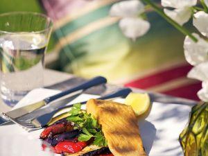 Lachs mit Gemüse Rezept
