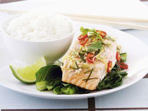Lachsfilet nach Thai-Art Rezept