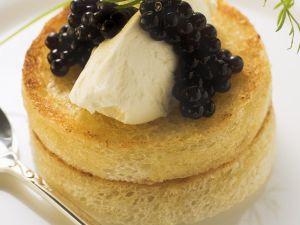 Lachsmousse-Häppchen Rezept
